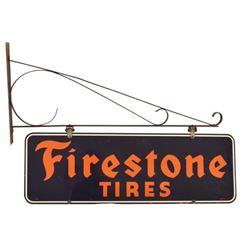 Firestone Tires Porcelain Sign