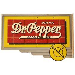 Dr Pepper Flange Sign