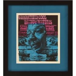 Muddy Waters Vulcan Gas Co. Jim Franklin Poster