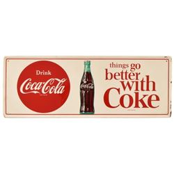 Coca-Cola Things Go Better With Coke Sign