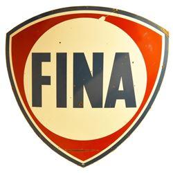 Large Fina Porcelain Sign