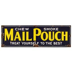 Mail Pouch Tobacco Porcelain Sign