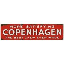 Copenhagen Porcelain Sign
