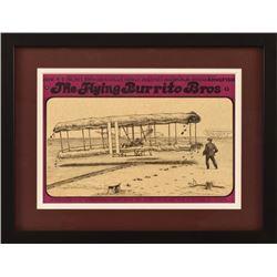 The Flying Burrito Bros. AWHQ Poster Jim Franklin