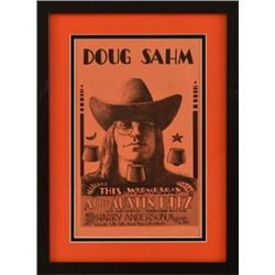Doug Sahm Ritz Theater Poster By Jim Franklin