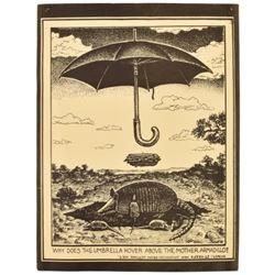 The Sandwich Shop Jim Franklin Armadillo Umbrella
