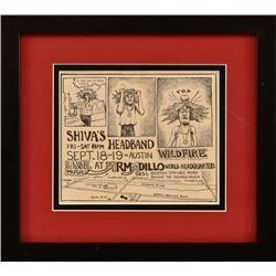 Shiva's Headband AWHQ Handbill By Jim Franklin