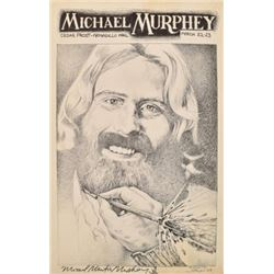 AWHQ Michael Murphey Poster Jim Franklin