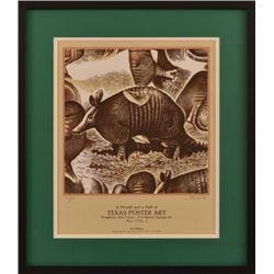 "Jim Franklin ""Texas Poster Art"" Poster"