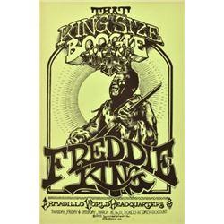 Freddie King AWHQ Poster Micael Priest