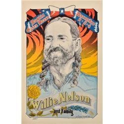 Willie Nelson Austin Opry House By Danny Garrett
