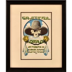 Grateful Dead Manor Downs By Micael Priest Framed