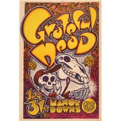Grateful Dead Manor Downs Poster by Micael Priest