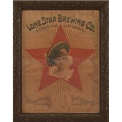 Lone Star Brewing Co. Alamo Girl Pre-Prohibition