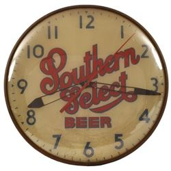 Southern Select Beer Light Up Pam Clock