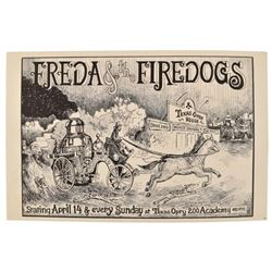 Freda And The Firedogs Texas Opry House Austin