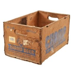Champion Brewing Co. Wooden Beer Crate