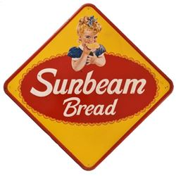 Large Sunbeam Bread Tin Sign