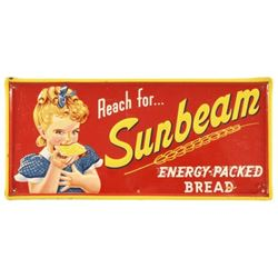 Sunbeam Bread Tin Sign