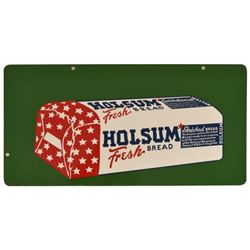 Holsum Fresh Bread Double Sided Tin Sign