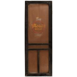 Merita Bread Advertising Screen Door