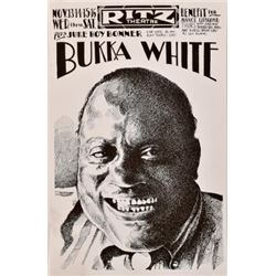 Bukka White Ritz Theater Poster Jim Franklin