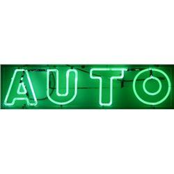 Auto Neon Sign