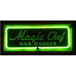 Magic Chef Gas Ranges Neon Sign