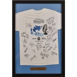 Framed & Signed 2009 Summer Fan Drive T-Shirt