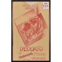 Deodato Armadillo World HQ Poster Ken Featherston