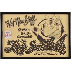 Too Smooth Armadillo World Headquarters Poster