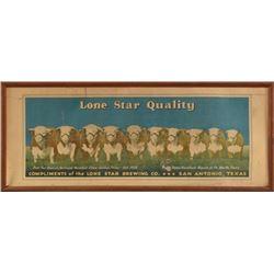Lone Star Beer Hereford Herd Sign