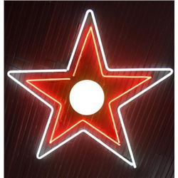 Small Ceiling Neon Star