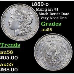 1889-o Morgan Dollar $1 Grades Choice AU/BU Slider