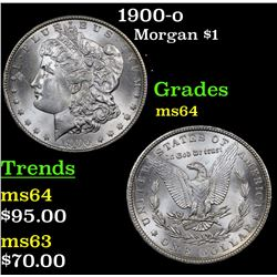 1900-o Morgan Dollar $1 Grades Choice Unc