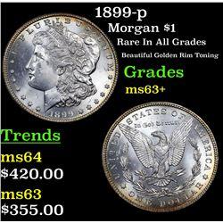 1899-p Morgan Dollar $1 Grades Select+ Unc