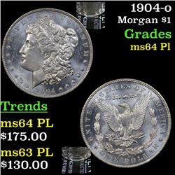 1904-o Morgan Dollar $1 Grades Choice Unc PL