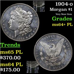 1904-o Morgan Dollar $1 Grades Choice Unc+ PL