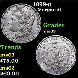 1899-o Morgan Dollar $1 Grades Select Unc