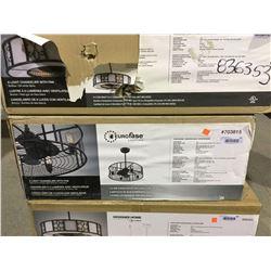 Eurofase Lighting 4-Light Chandelier w/ Fan