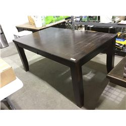 """Wooden Dining Table (66"""" x 40"""" x 30 1/2""""H)"""