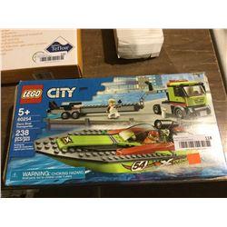 Lego City Race Boat Building Set