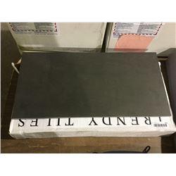 Trendy Tiles London Tiles - Black - 300mm x 600mm (6 Tiles/Box)