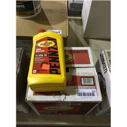 Case of Pennzoil SAE 10W-30 High Mileage Motor Oil (6 x 946mL)