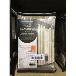 "Design Solutions Total Blackout Grommet Top Panel (50"" x 120"")"
