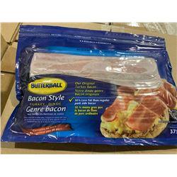 Case Lot of Butterball turkey bacon 12 x 375g