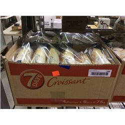 Case of 7 Days Soft Croissant with Vanilla Filling (4 x 6 x 75g)