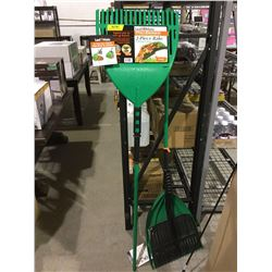 Leaf Mate 2-Piece Rake and Pick-up System
