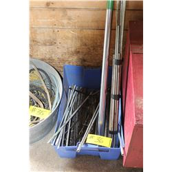 BLUE CONTAINER C/W RODS & REDI ROD