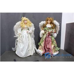(2) Large Angels BID PRICE X2